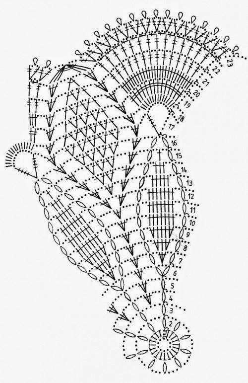 Fina carpeta al crochet | Crochet y Dos agujas - Patrones de tejido ...