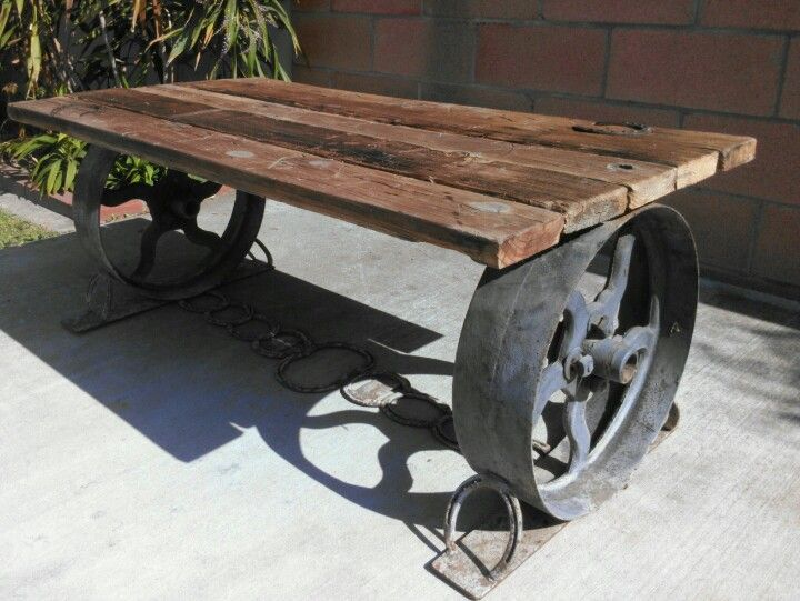 Exceptional Cowboy Coffee Table