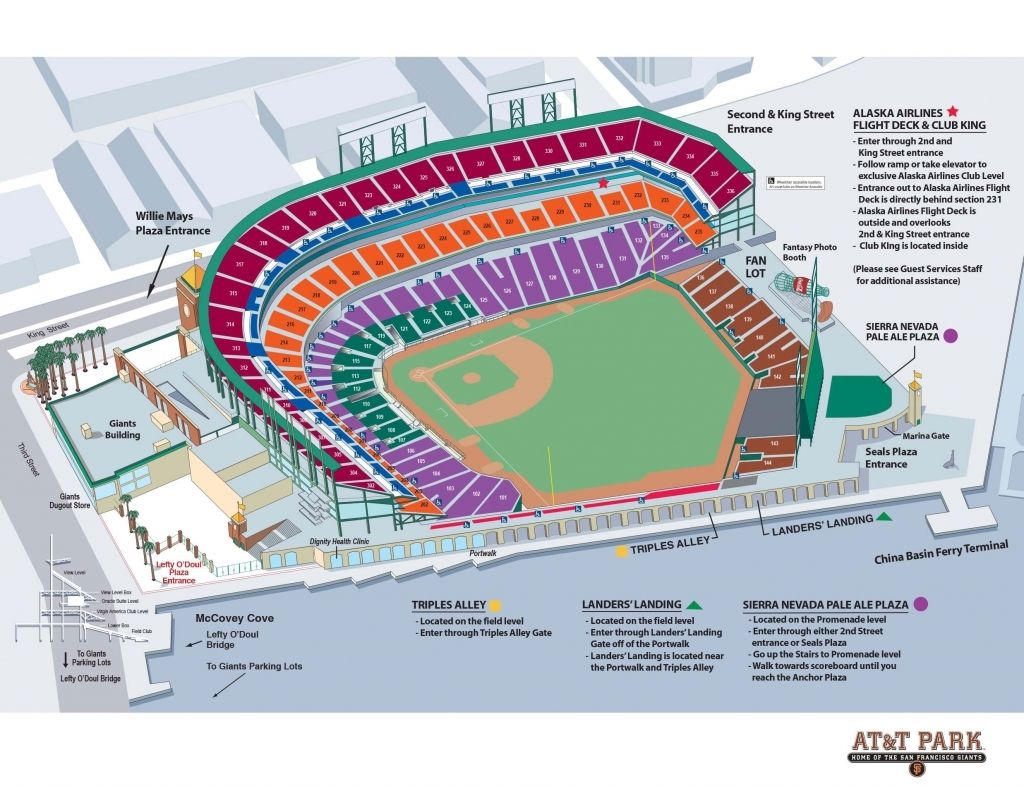 The Incredible Sf Giants Seating Chart Giants Stadium Sf Giants The Incredibles