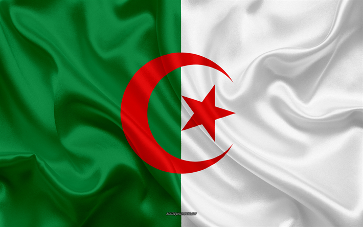 Download Wallpapers Flag Of Algeria 4k Silk Texture Algeria Flag National Symbol Silk Flag Algeria Africa Flags Of African Countries In 2020 Algeria Flag National Symbols Flag