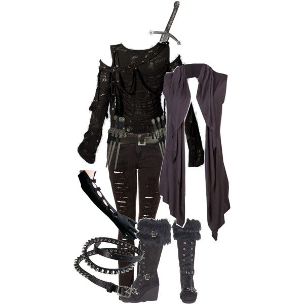 """Shadow Hunter Gear"" by meaganwymbs on Polyvore Fandom"