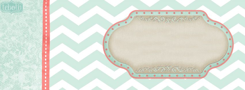 LOVE the mint color in this free Facebook timeline cover!