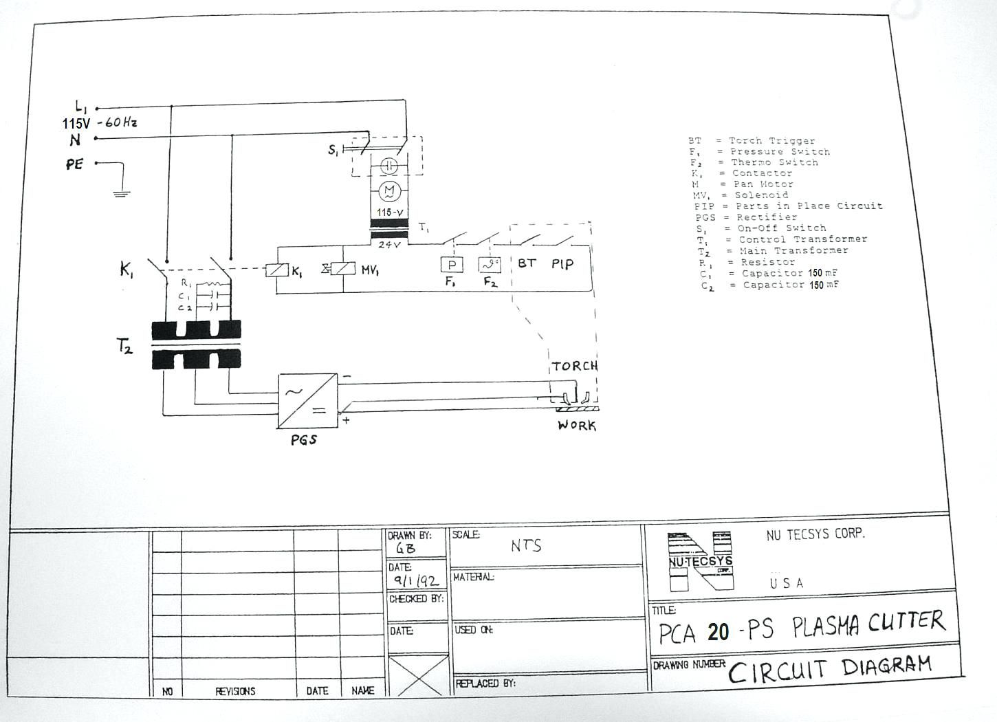 115v Breaker Wiring Diagram