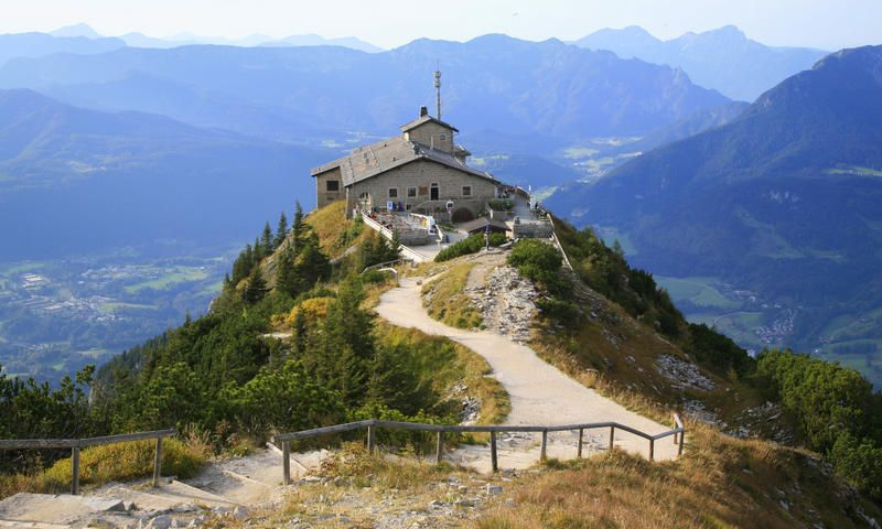 Hitler's former meeting place, Eagle's nest sits on the top of Mount Kehlstein. http://www.secretearth.com/attractions/591-eagle-s-nest