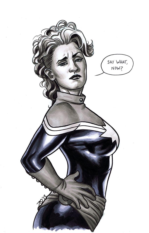 Captain Marvel by Joe Quinones *