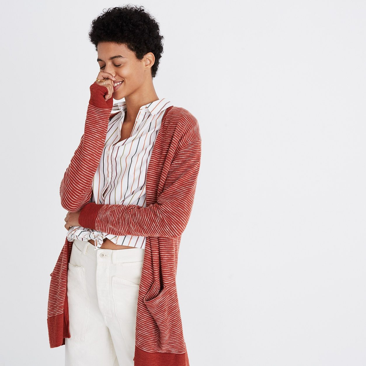 7a681e884774 Summer Ryder Cardigan Sweater in Stripe : cardigans & sweater-jackets |  Madewell