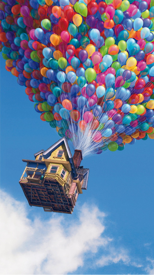 Up House iPhone 5 Wallpaper (640x1136) | iPhone stuff ...