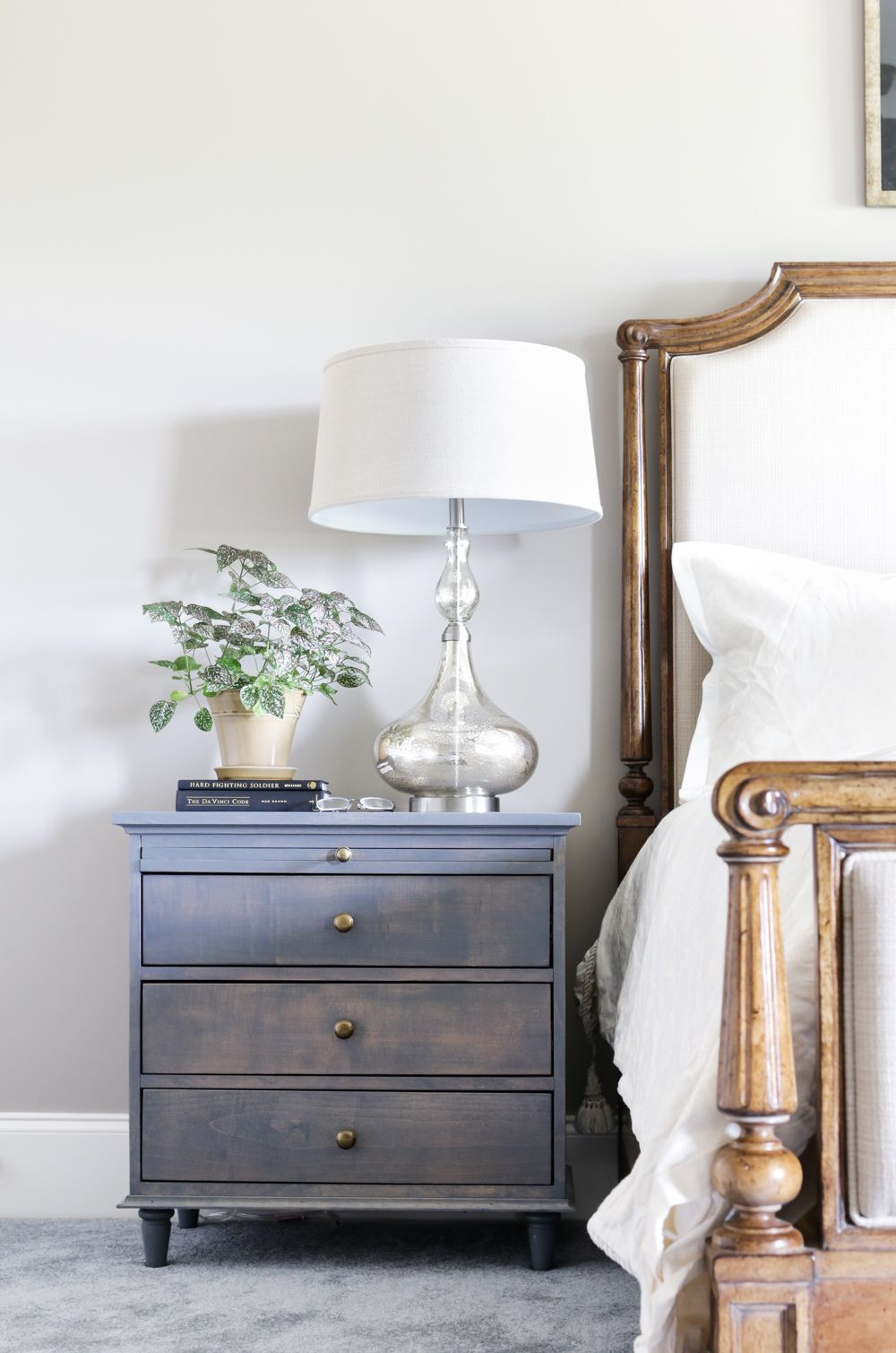 How to build a nightstand with built in