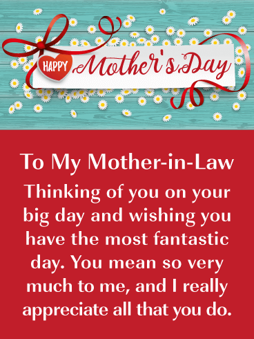 All That You Do Happy Mother S Day Card For Mother In Law Birthday Greeting Cards By Davia Happy Mothers Day Mom Happy Mothers Day Pictures Happy Mothers