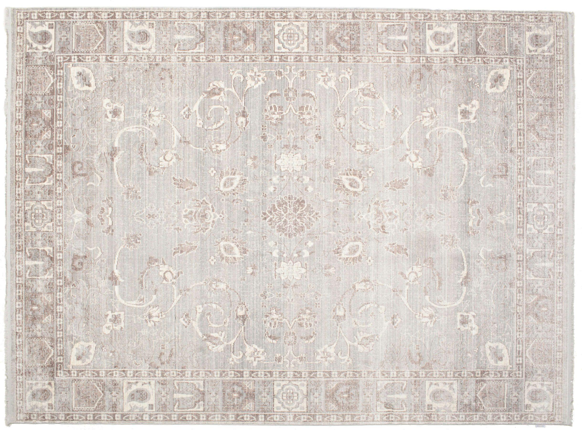Tappeti Grandi Da Esterno maharani - grigio tappeto 250x350 moderno grigio chiaro