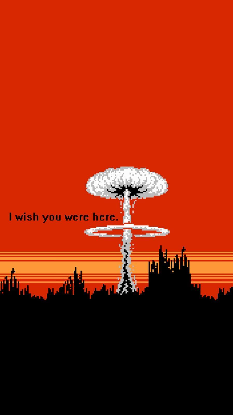 Wish You Were Here Aesthetic Wallpapers Art Wallpaper Vaporwave Art