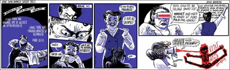Philippines Comics: Kampilan, Rizal's Super Advanced Surgery Skillz, 2013