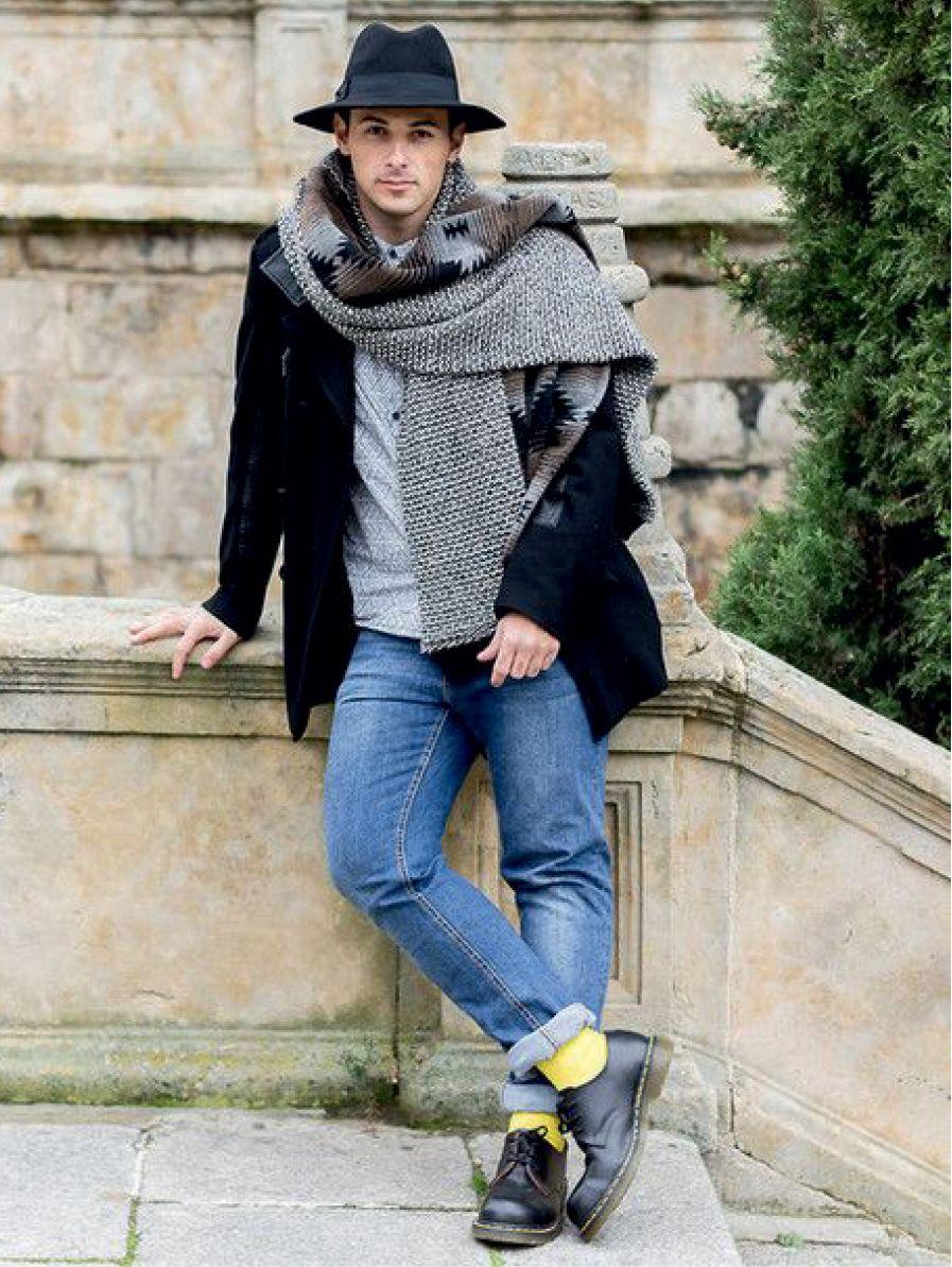 Bohemian graphic style Jeffrey Herrero, look H&M, Zara