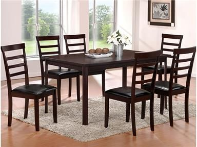 Primo International Dining Room 7 Piece Dining Set 1000 - Home Decor Furniture - Brooklyn, NY 11235