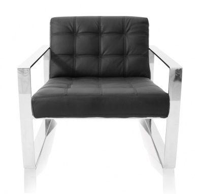 Savina Contemporary Arm Chair Black Contemporary