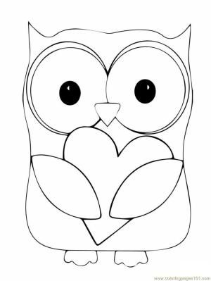 owl coloring page Coloring Pages Owl Birds gt Owl