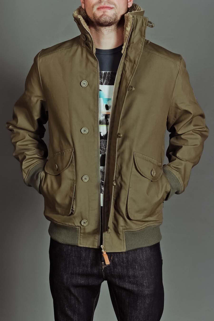 jackthreads leopoldo jacket military olive goodlook. Black Bedroom Furniture Sets. Home Design Ideas