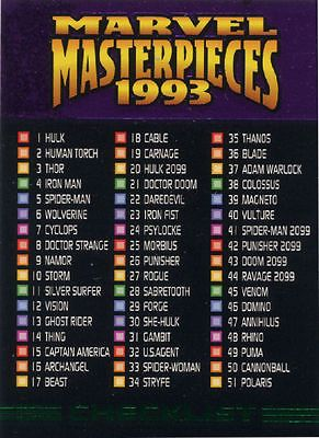1993 marvel #masterpieces buy lot 10 #cards to #complete your sets - u-pick 10 ca,  View more on the LINK: http://www.zeppy.io/product/gb/2/221978460670/