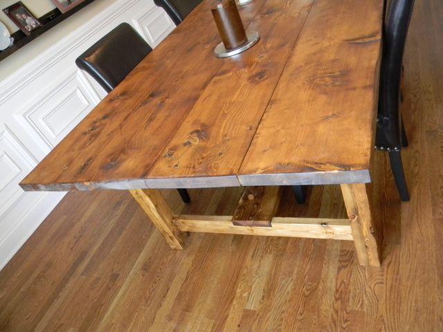 Carolina Farmhouse Wide Plank Mountain Majesty Table