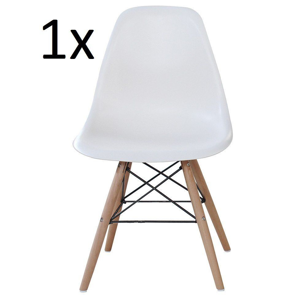 Outstanding Pn Homewares Moda Dining Chair Plastic Wood Retro Dining Pabps2019 Chair Design Images Pabps2019Com