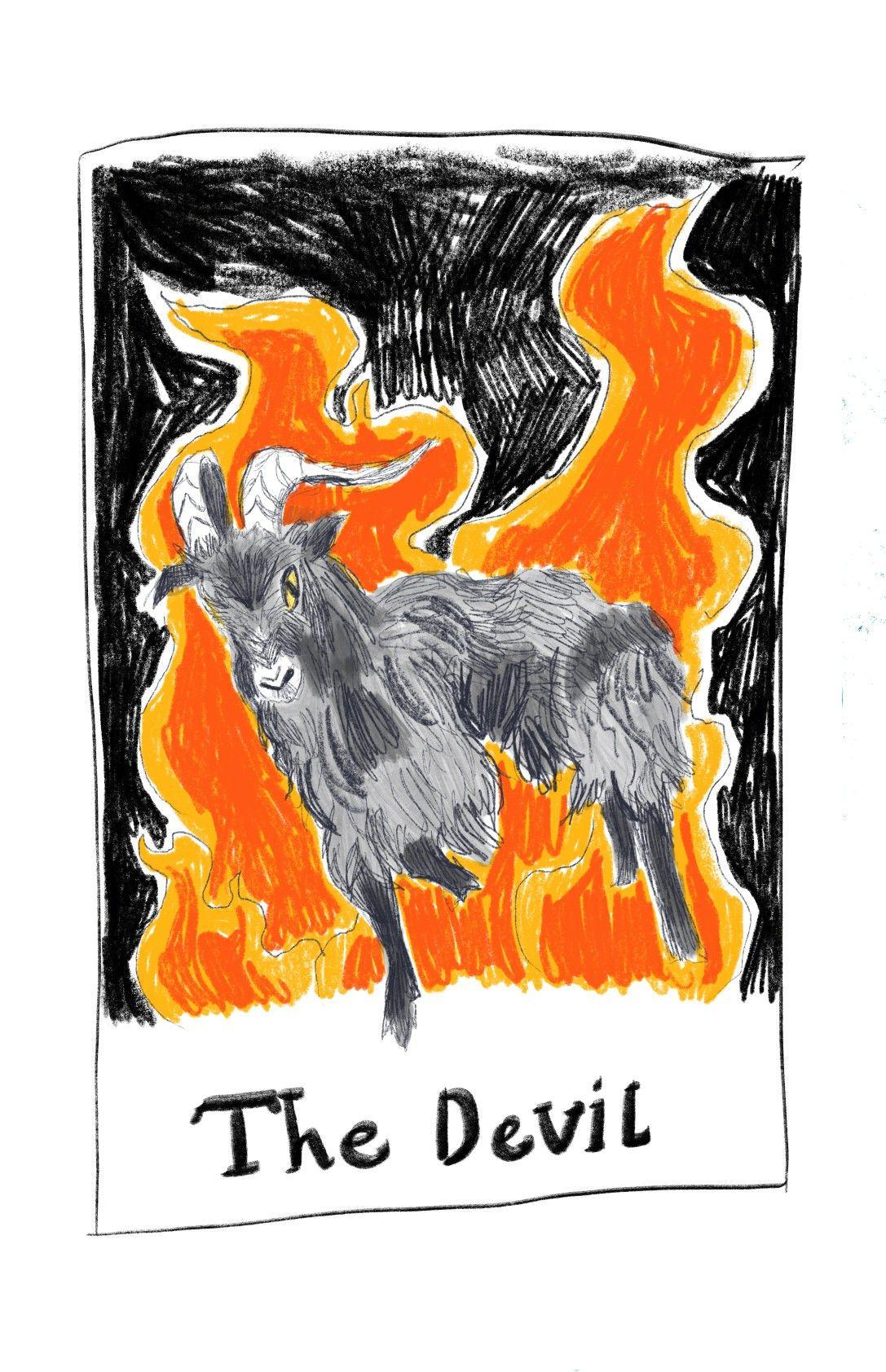 Design for tarot card moose art tarot tarot cards