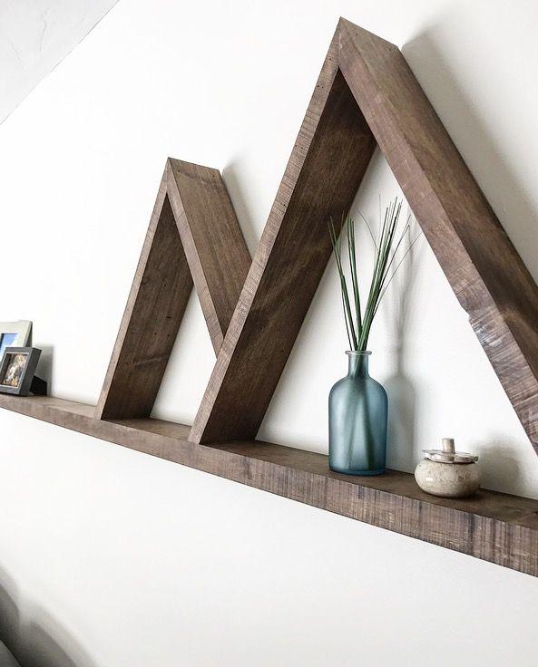 "72"" Mountain Shelf @ginnusandcrownwoodwork In 2019"