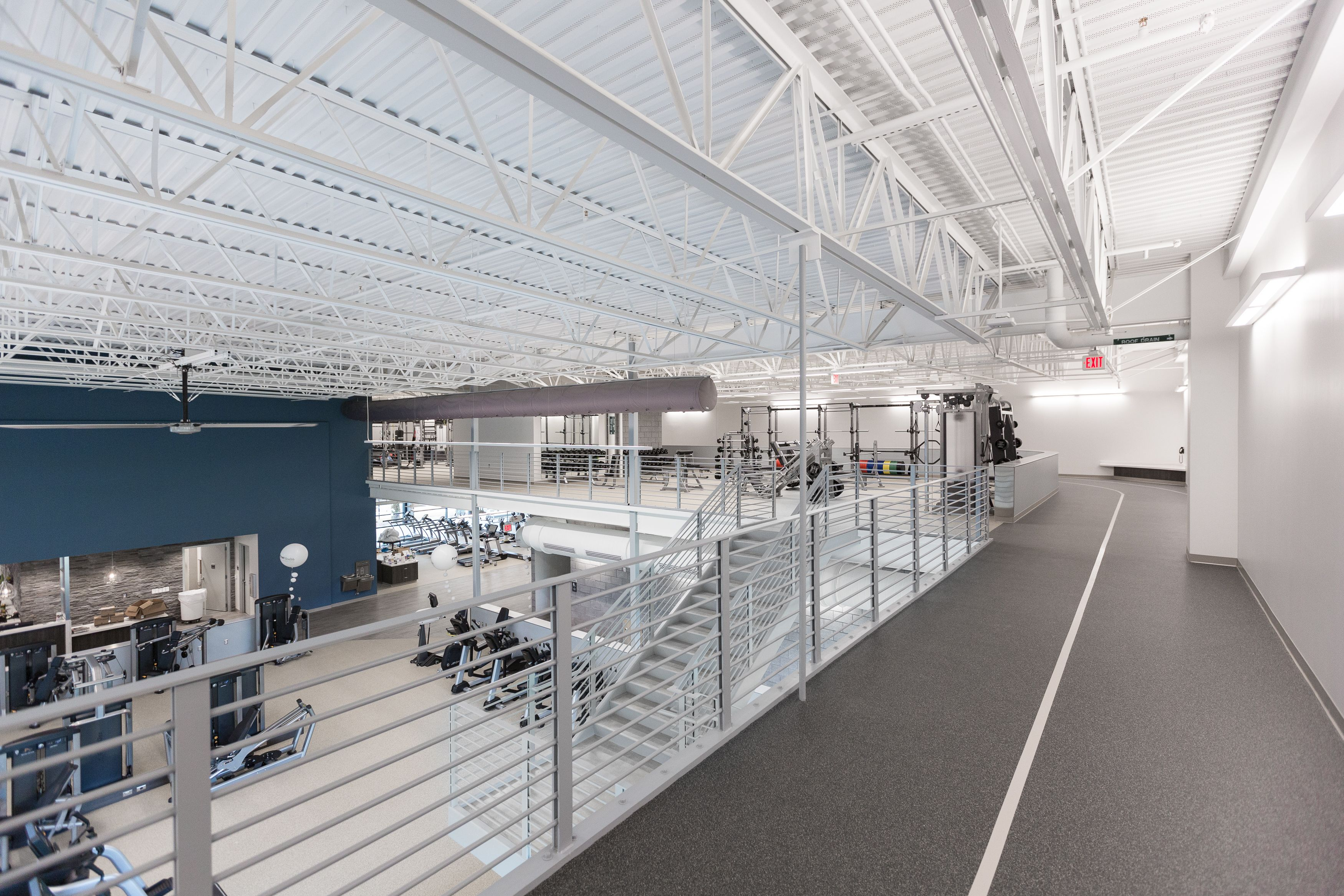 Firsthealth Fitness Lee Campus Sanford Nc Ecore Ecosurfaces Ecofit Spartansurfaces Recycledru Interior Architecture Transparent Design Aesthetic Value
