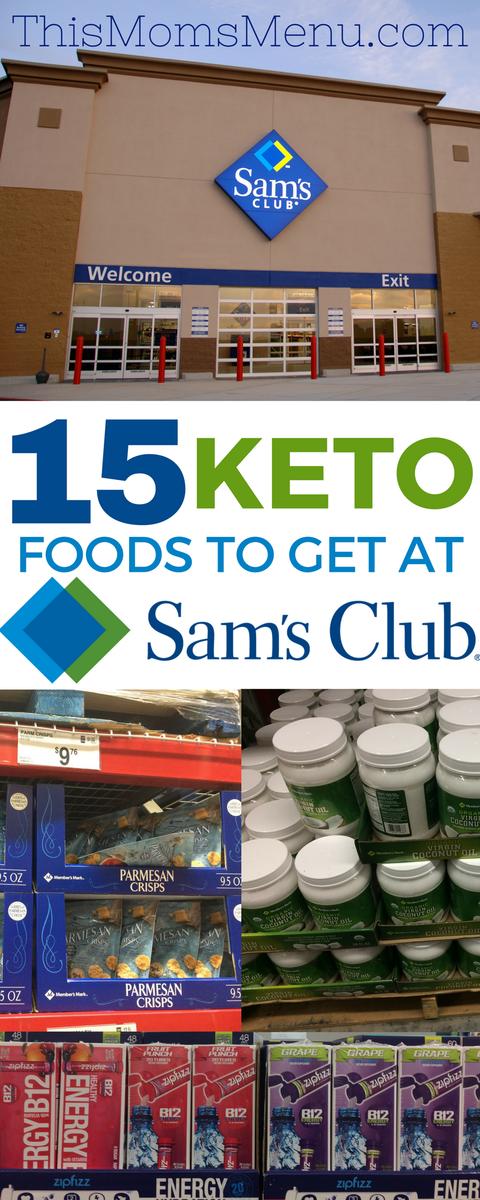 Keto at Sam's Club