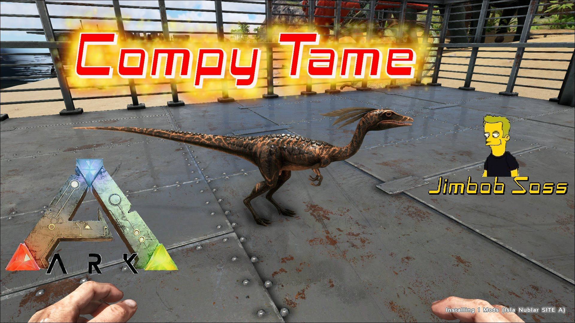 ARK Survival Evolved Compy tame | Ark Survival 3 | Ark survival