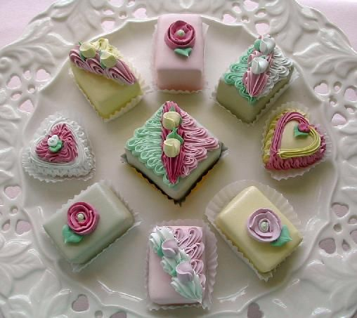 Lovely Petit Fours