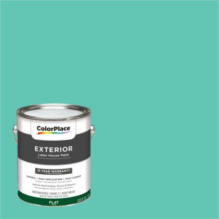 ColorPlace Exterior Paint, Thai Teal, #53GG 50/360   Walmart.com