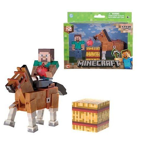 minecraft steve en paard - Google zoeken