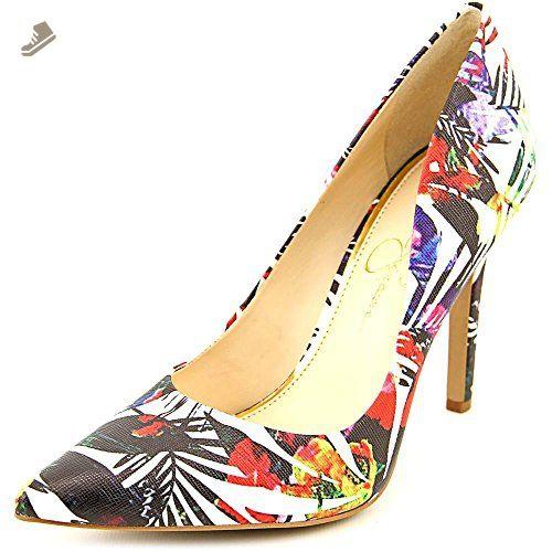 Jessica Simpson Cassani Women US 7.5 Multi Color Heels - Jessica simpson pumps for women (*Amazon Partner-Link)