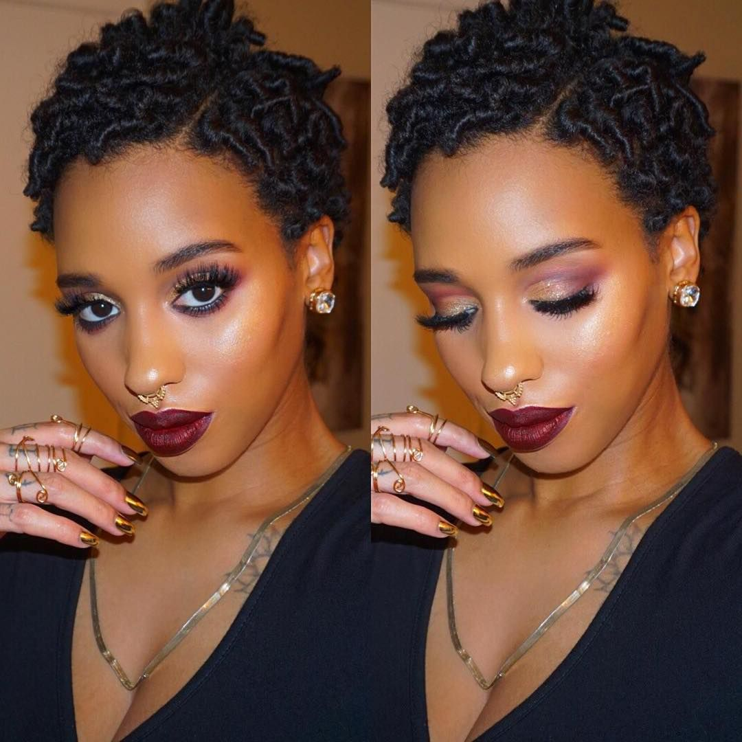 Get To Know Natural Hair Wedding Hairstyles 2017: « By @iamlilredz Last One For The Night Finger Coils (W