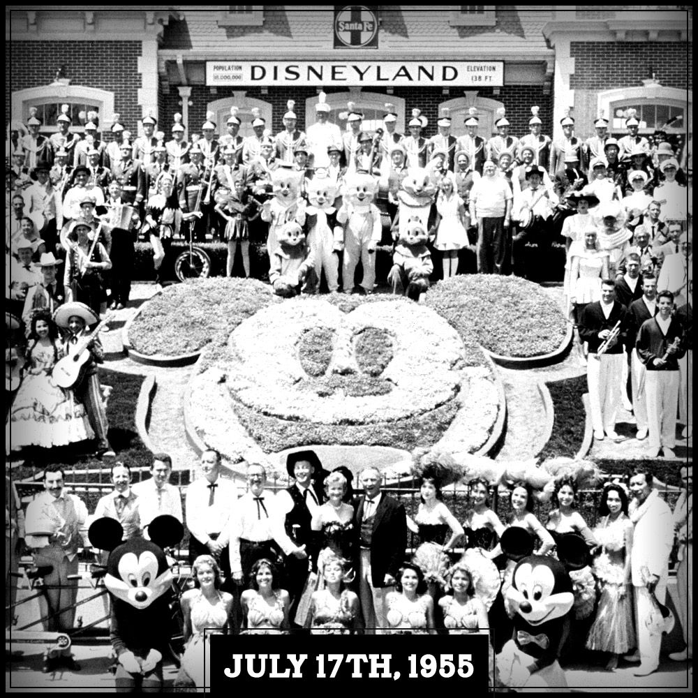 On This Date In 1955, #Disneyland Opened Its Gates Into