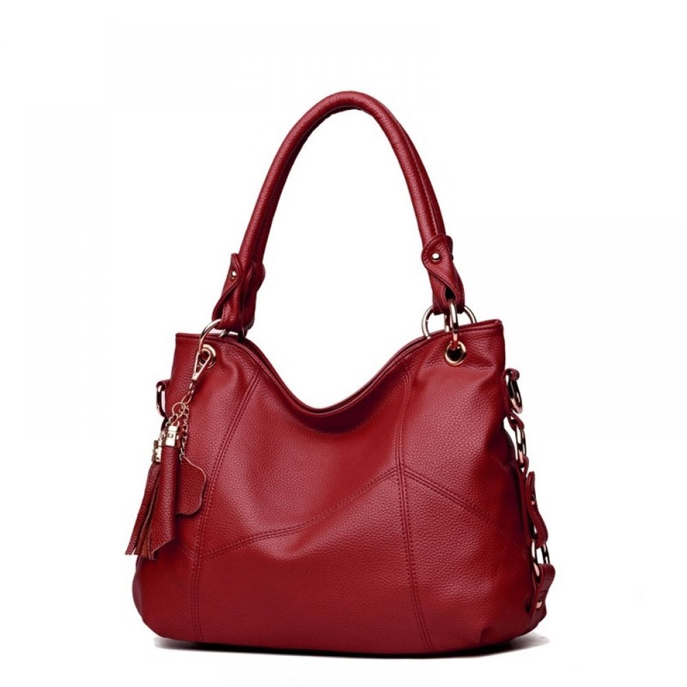 4fc86d7eae77 Leather Tassel Large Tote Women Bag Discover wide rage of Women s Bags and  Clutches. Shop different styles like shoulder bags