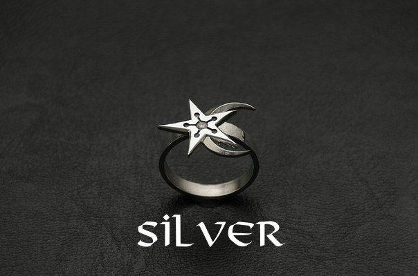 Moon-and-Star Ring Moon ring Gamer Ring Skyrim Elder Scrolls Skyrim