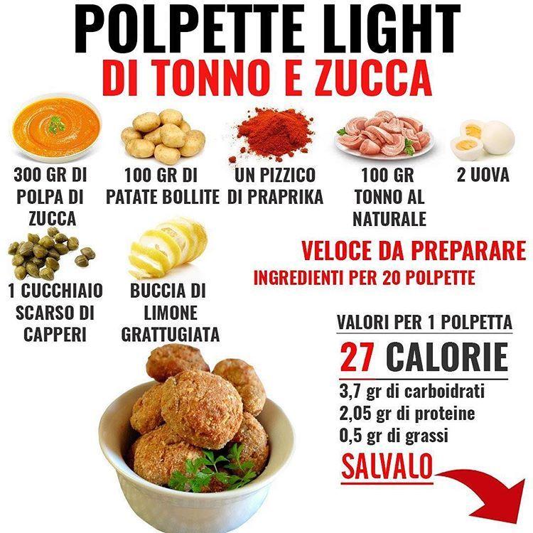"""Giuseppe Healthy on Instagram: """"SALVA LA RICETTA ☝️☝️ . La prima ricetta del 2019 , iniziamo da una ricetta salata super light (solo 27 kcal per polpetta !!) ed abbastanza…"""""""