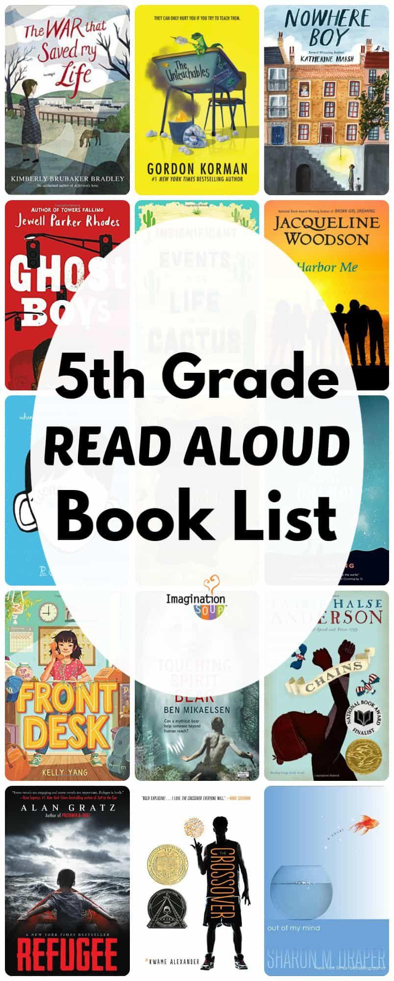 Read Aloud Books for 12th Grade   Imagination Soup   12th grade ...
