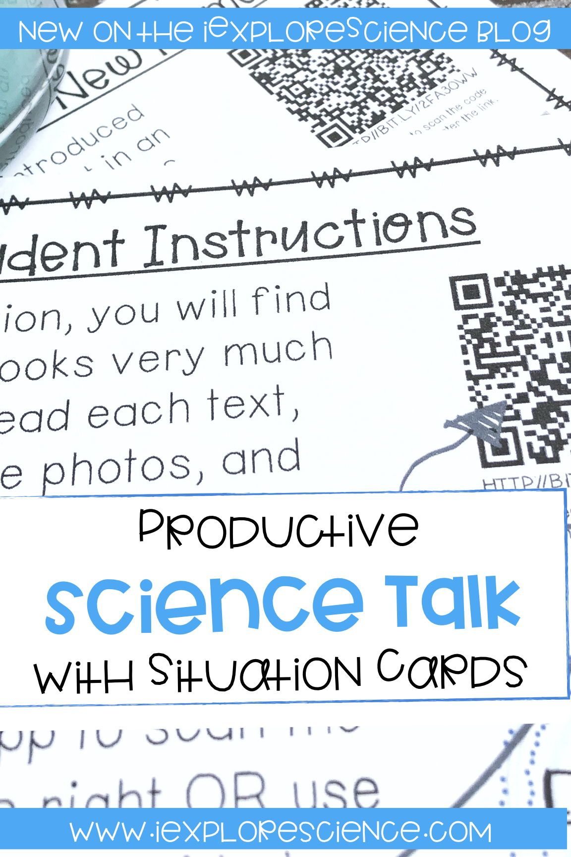 Using Real World Situations To Promote Science Talk