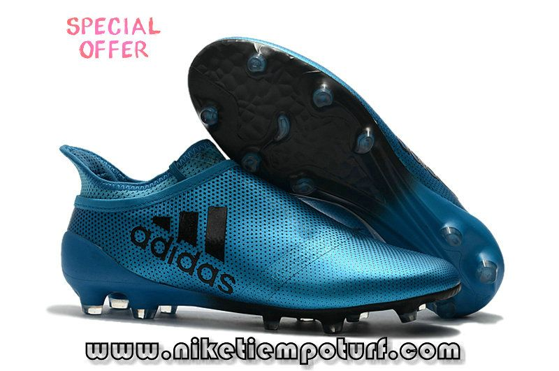 347146871 Cleats Adidas Ace 17+ Purecontrol FG Blue Black