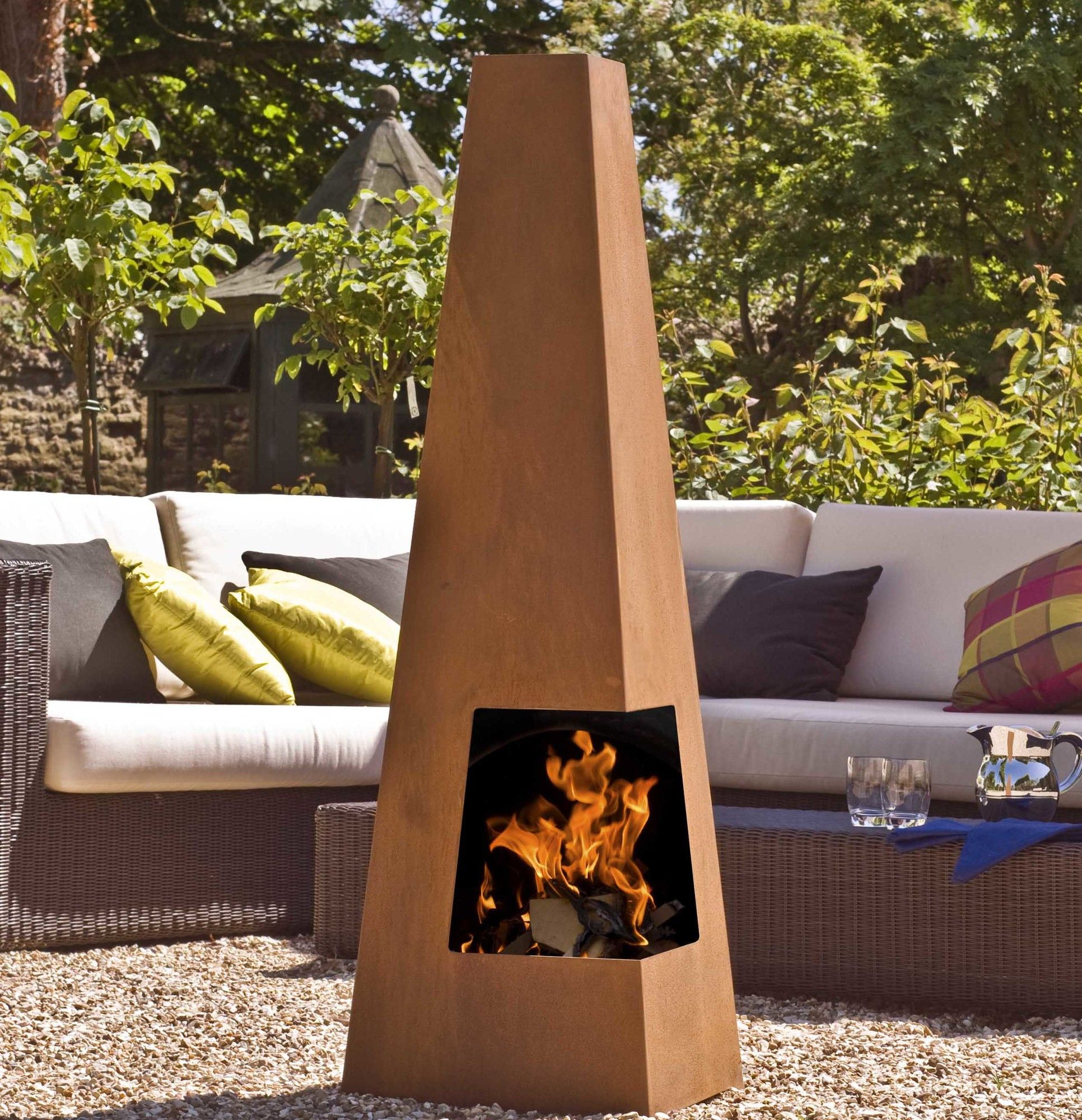 9dfc68291bad3912a40e3d86a7b41cc7 Top Result 50 Awesome Steel Outdoor Fireplace Gallery 2018 Hiw6