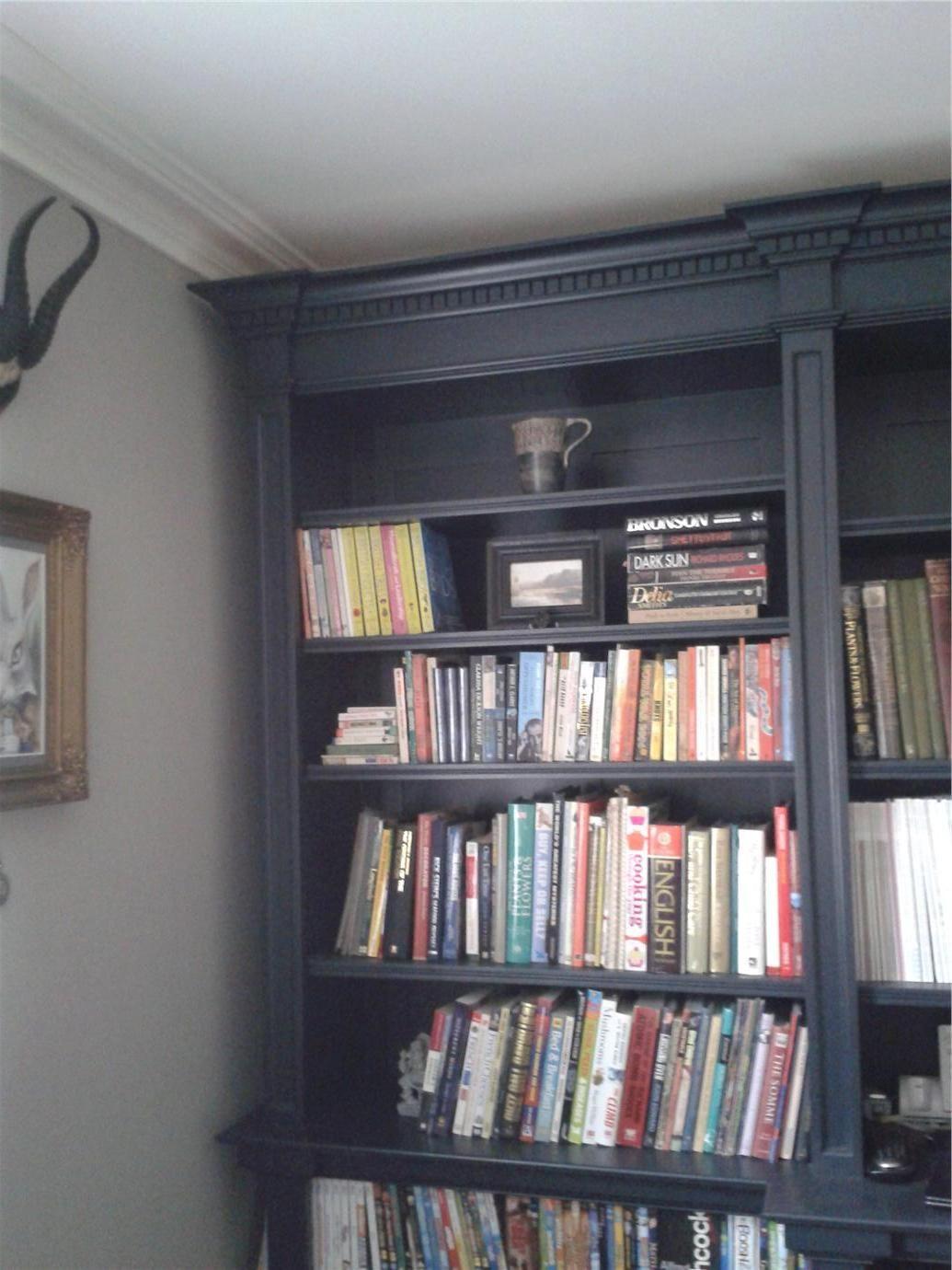 Wall Hardwick White Bookcase Railings Farrow Amp Ball