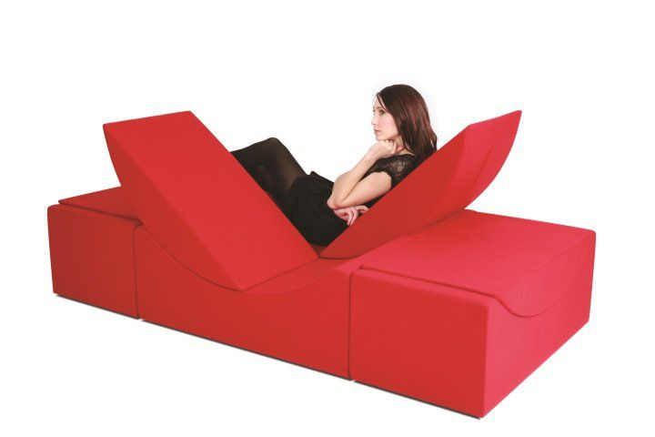 Lina Furniture Indoor Collection  - chaiselongue design moon lina moebel