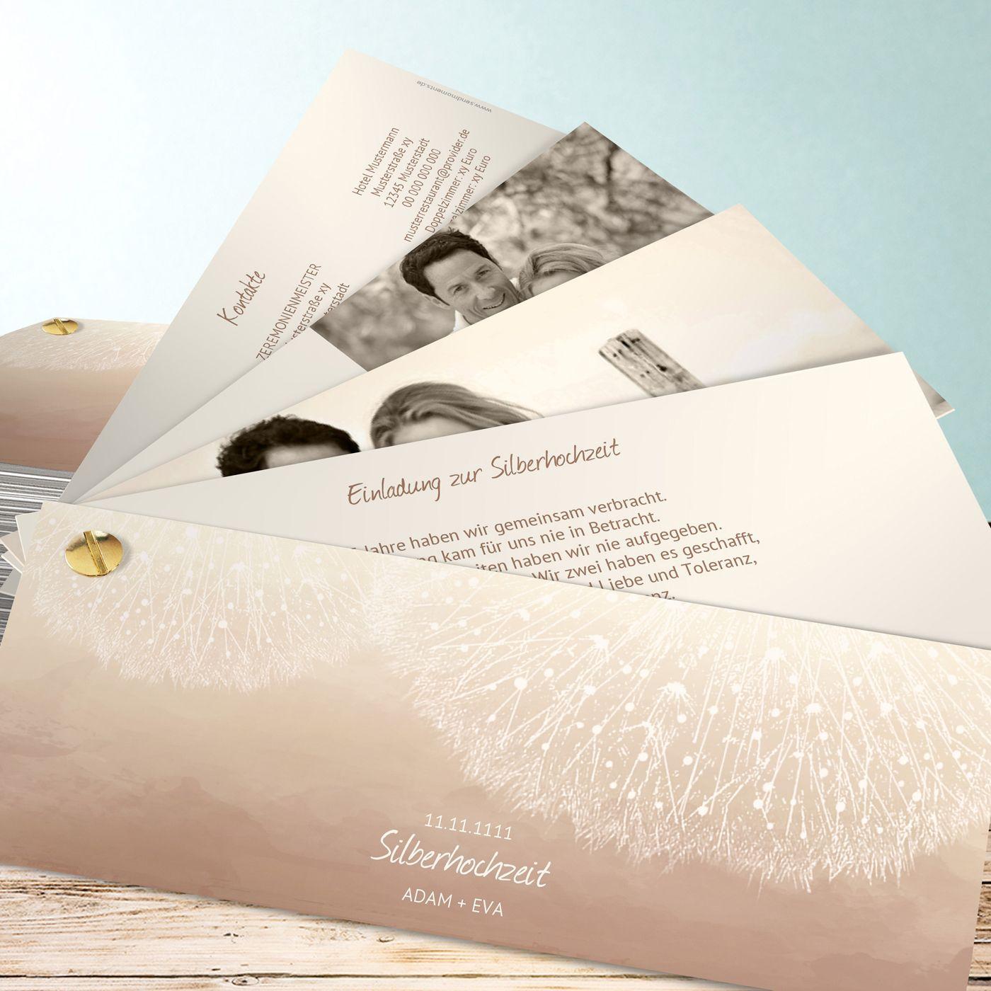 1000+ ideas about einladungskarten silberhochzeit on pinterest