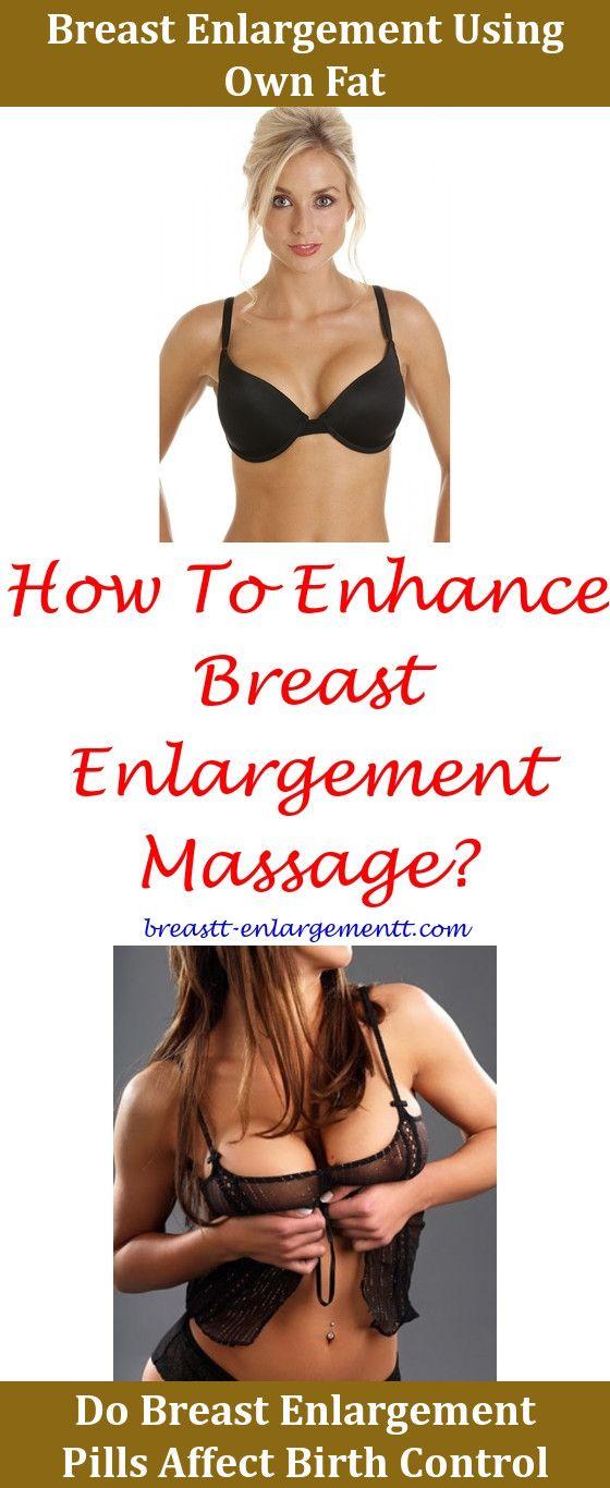 Enlargement birth control breast