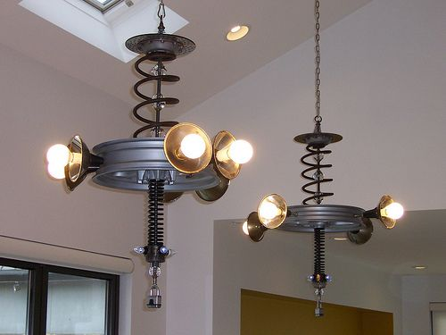 repurposed lighting. RePurposed Lighting : Cycliers @ MSI 09 \u0027 Smart Home | Flickr Repurposed Pinterest