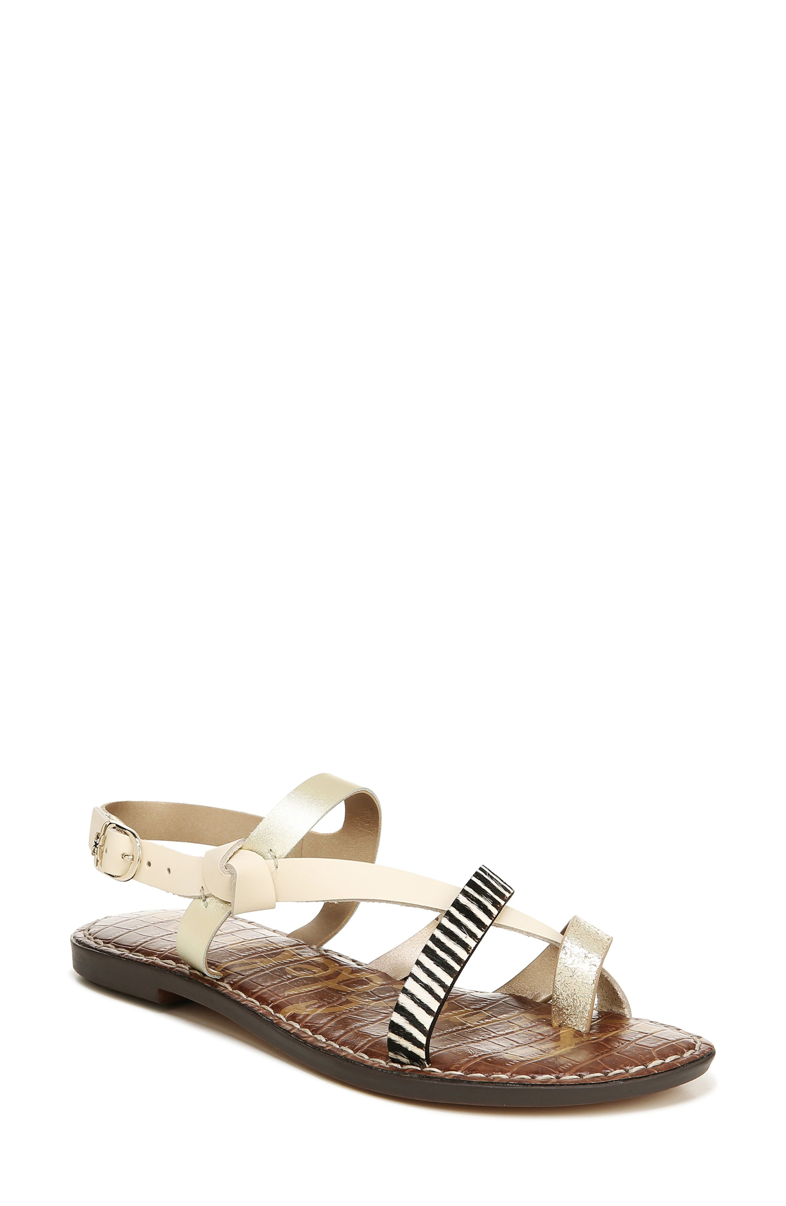 Sam Edelman Gladis Strappy Sandal (Women | Toe loop sandals