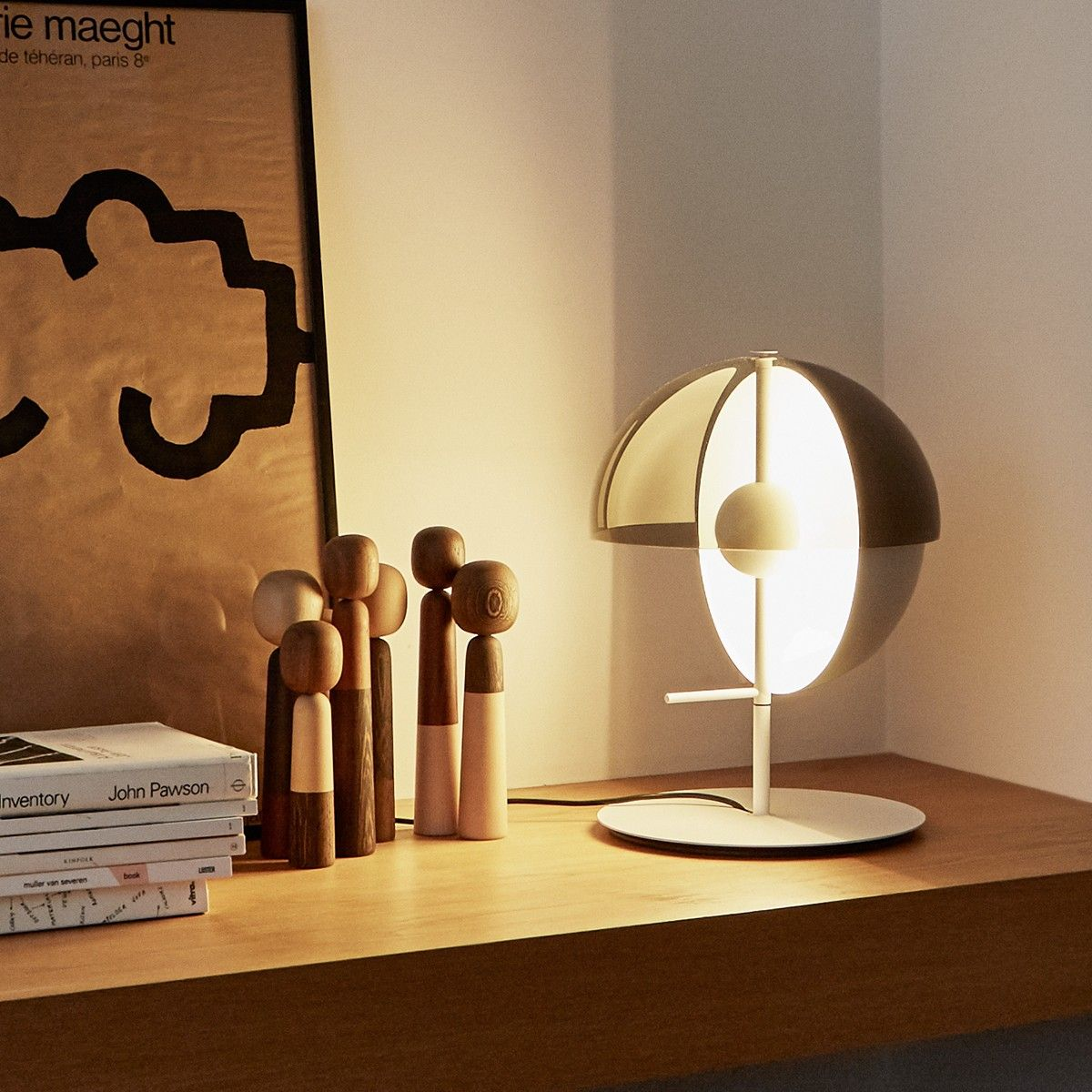 Merging Light And Shadow Our Theia M Table Lamp Was Designed By Mathias Hahn For Marset To Truly Express The Beauty A Table Lamp Design Lamp Design Table Lamp