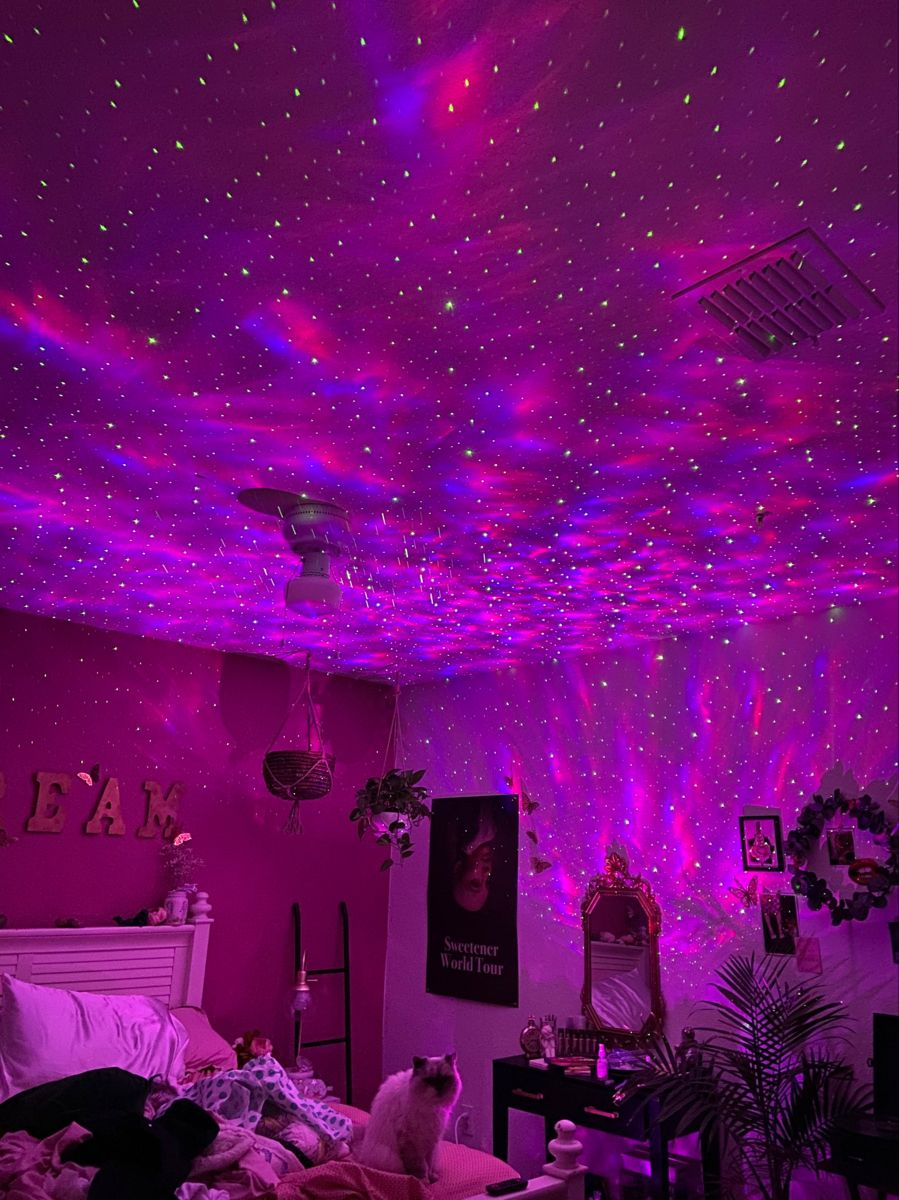 Pin by Emiliecorolleur on dorm in 19  Neon room, Neon bedroom